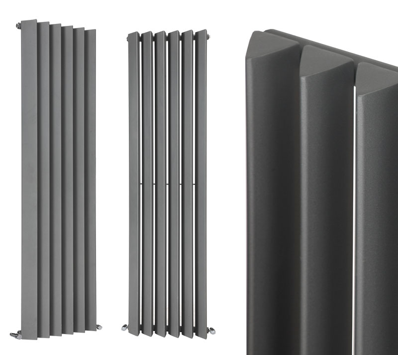 neu design paneelheizk rper seitenanschluss heizwand vertikal flach heizk rper ebay. Black Bedroom Furniture Sets. Home Design Ideas